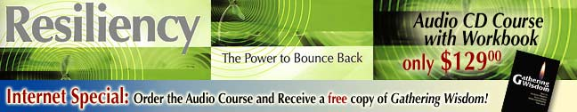 Resiliency Center Banner Ad 2008
