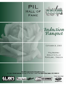 View full PILHOF program cover