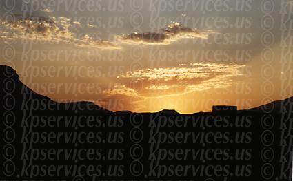 Sunrise over Utah, circa 1997