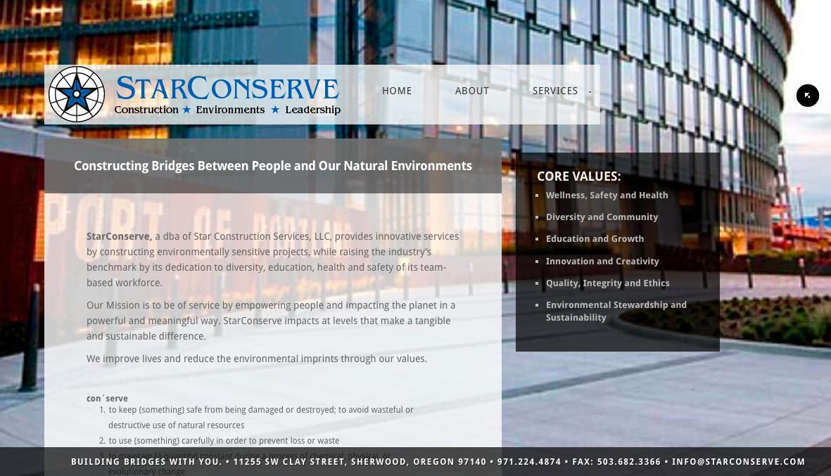 StarConserve.com - After